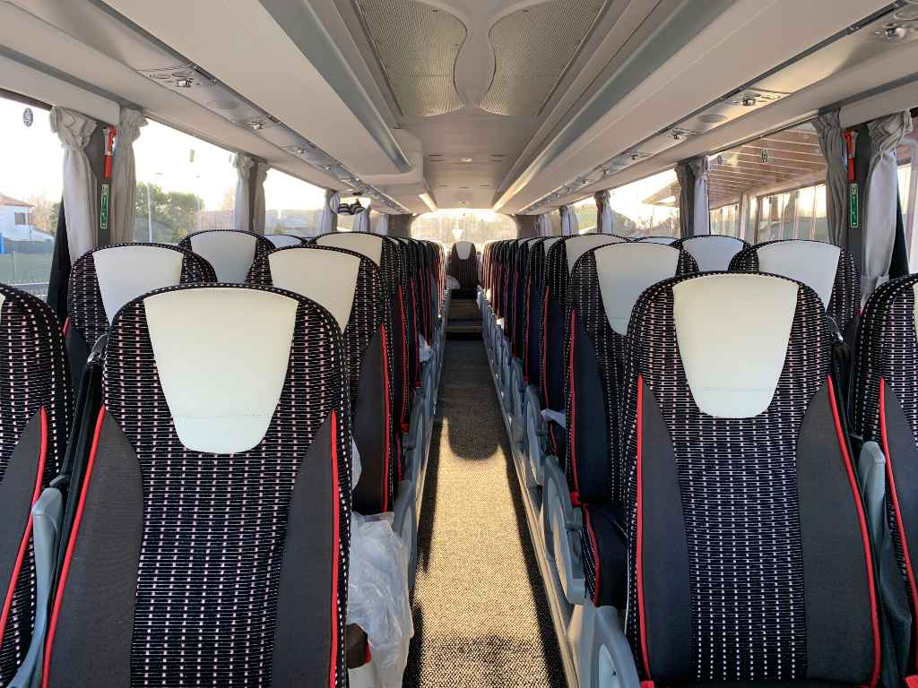 Interior Scania Irizar 55 seats
